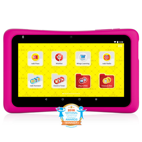 Barbie™ Tablet. Powered by nabi®.