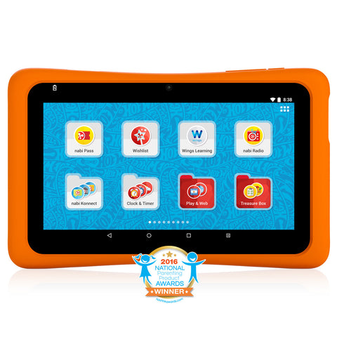 Hot Wheels™ Tablet. Powered by nabi®.
