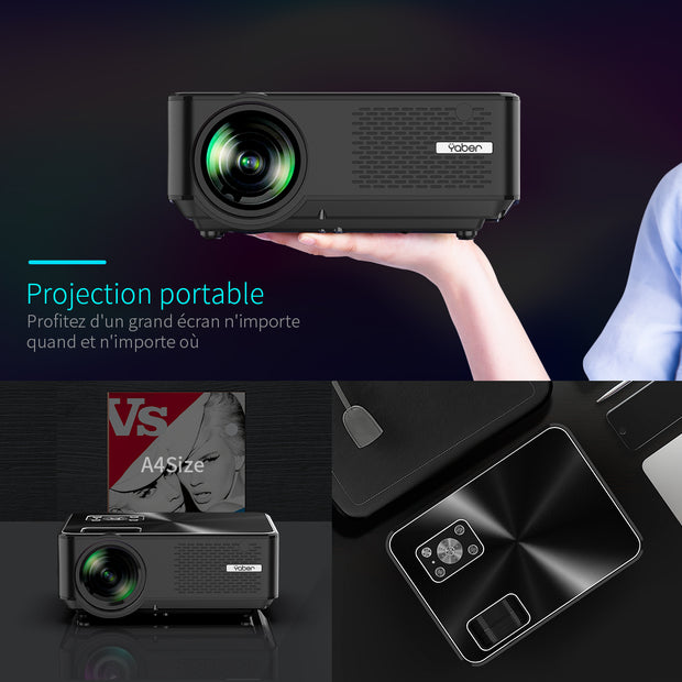 YABER PROJECTOR Y60 - YABER® Official Site