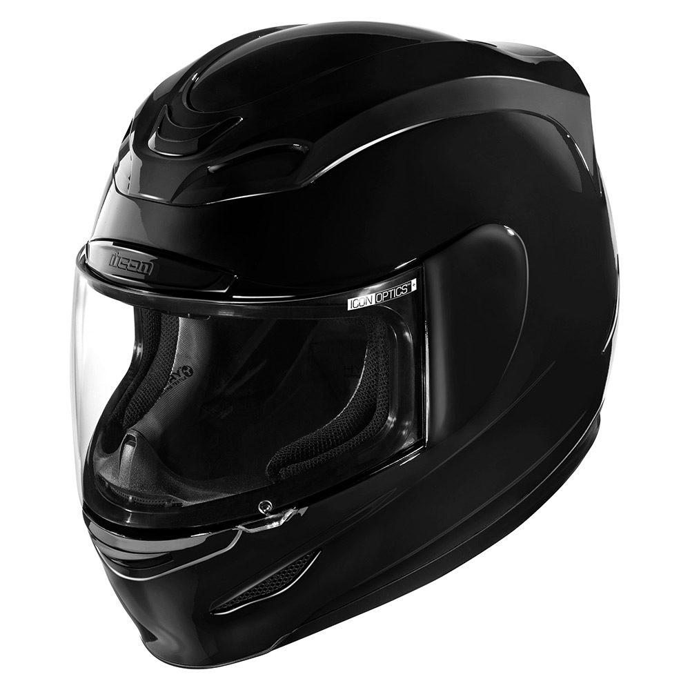 CASCO ICON AIRMADA - GLOSS BLACK