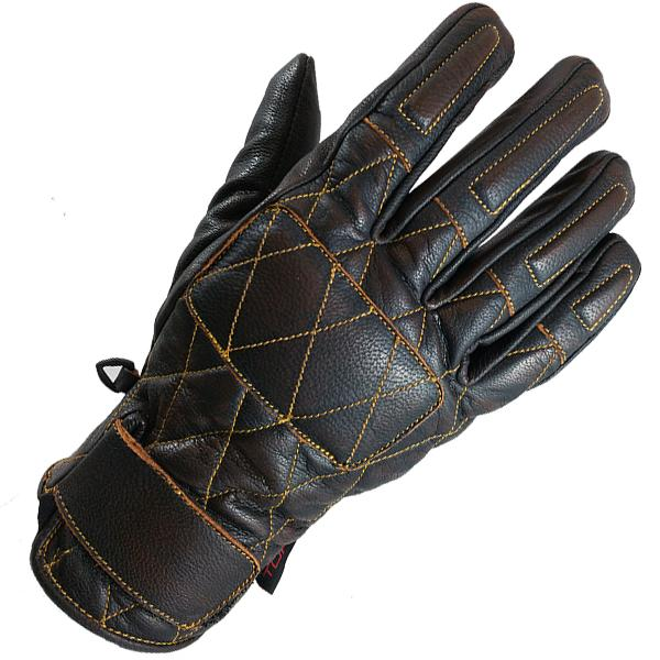 GUANTES TORC SILVER LAKE - CHOCOLATE