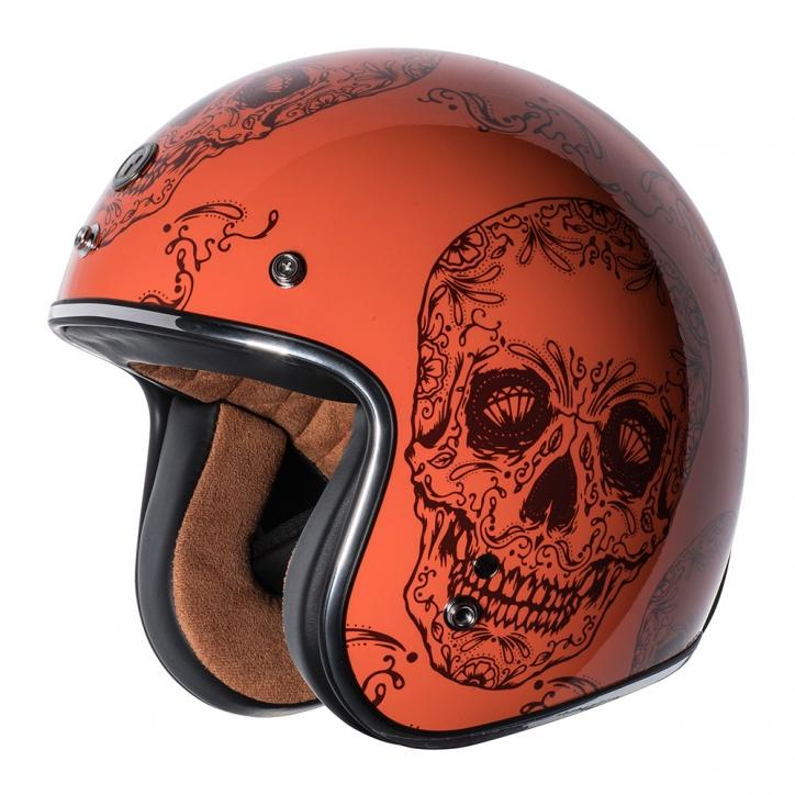 CASCO TORC T50 - ORANGE CRANEO