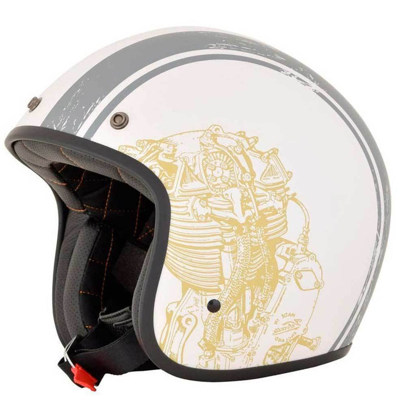 CASCO AFX 76 - WHITE/GREY