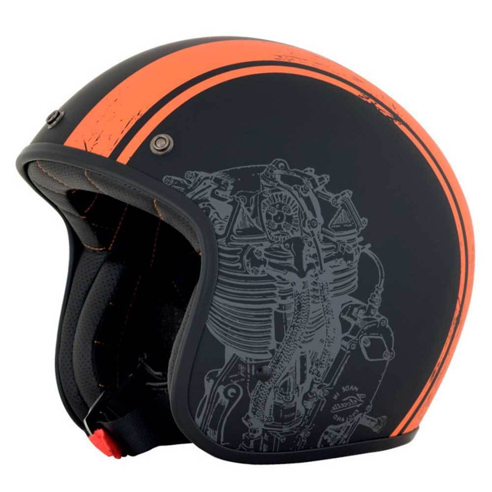 CASCO AFX 76 - BLACK/ORANGE