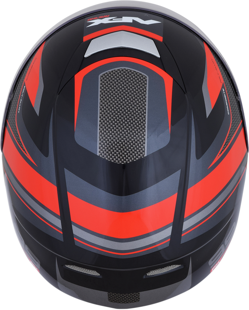 HELMET FX99 #5 BLK/RED