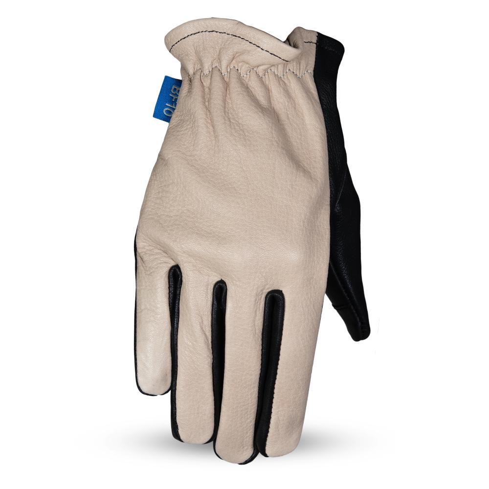 GUANTES DE PIEL PARA DAMA FIRST MFG ROPER - OIL SAND BLACK