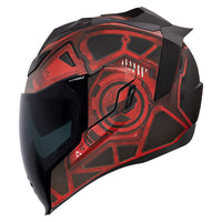 CASCO ICON AIRFLITE - BLOCKCHAIN ROJO