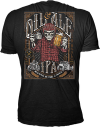 TEE OIL & ALE BLACK