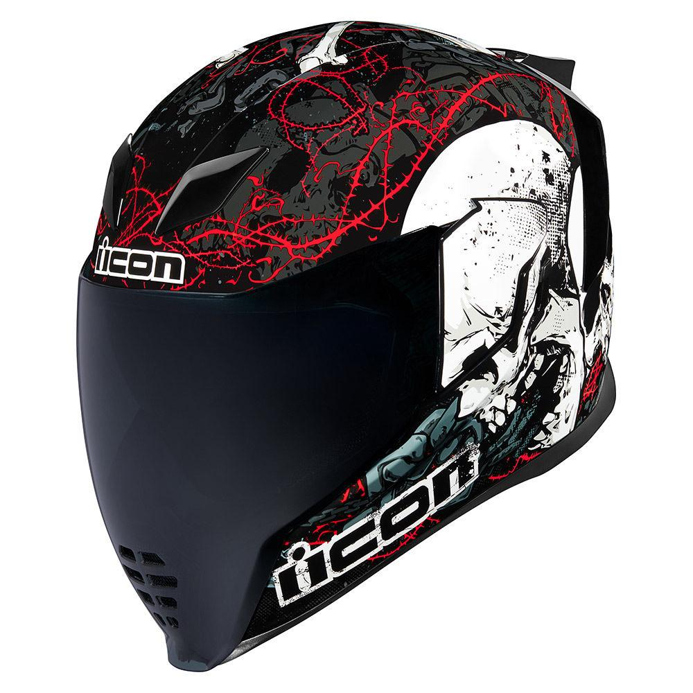 CASCO ICON AIRFLITE - SKULL 18