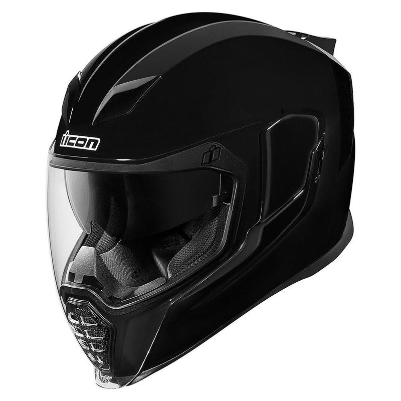 CASCO ICON AIRFLITE - GLOSS BLACK