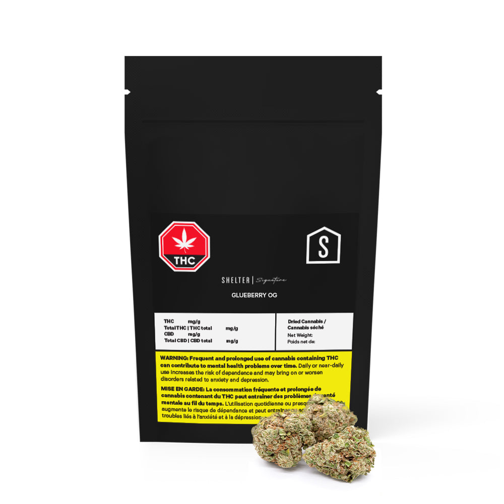 Glueberry OG Dried Cannabis - Lot 20-P103