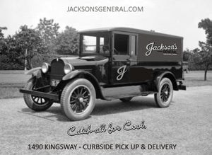 Jackson's Launches Delivery Service!