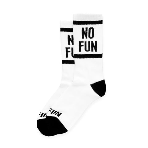 no fun press crew socks