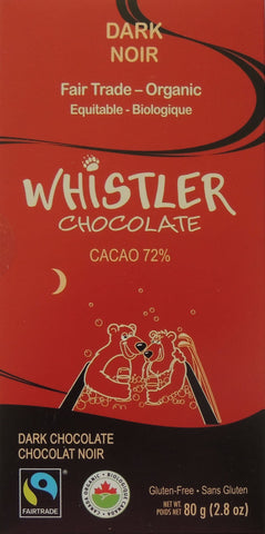 Whistler Gourmet Organic Chocolate Bars