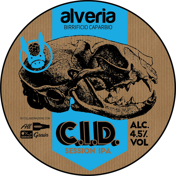 C.I.D. - Session IPA, bottiglia 33cl - Birrificio Alveria