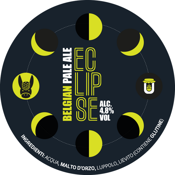 Eclipse - Belgian Pale Ale, bottiglia 33cl - Birrificio Alveria
