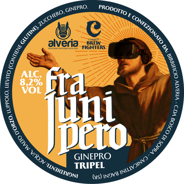 Fra Junipero - Tripel, bottiglia 33cl - Birrificio Alveria