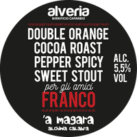Franco - Sweet Stout, bottiglia 33cl - Birrificio Alveria