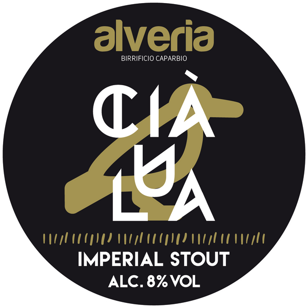Ciaùla - Imperial Stout, bottiglia 33cl - Birrificio Alveria
