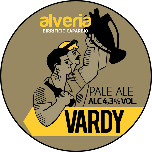 Vardy - English Pale Ale, bottiglia 33cl - Birrificio Alveria