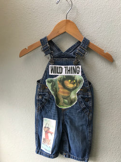 Wild Thing Overalls, Boy, Girl, Where the Wild Things Are - Cyndy Love Designs