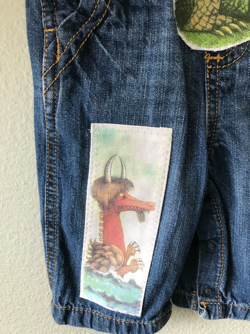 Wild Thing Overalls, Boy, Girl, Where the Wild Things Are