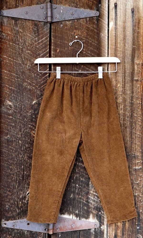 Boys Corduroy Pant with Elastic Waist - Cyndy Love Designs
