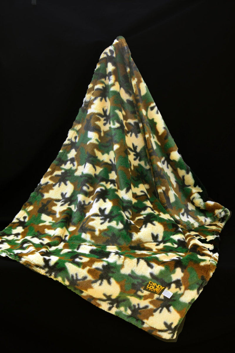 Baby Blanket Camouflage Print Blanket - Cyndy Love Designs