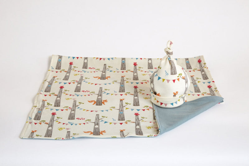 Fox Nursery Bedding | Organic Cotton Baby Blanket - Cyndy Love Designs