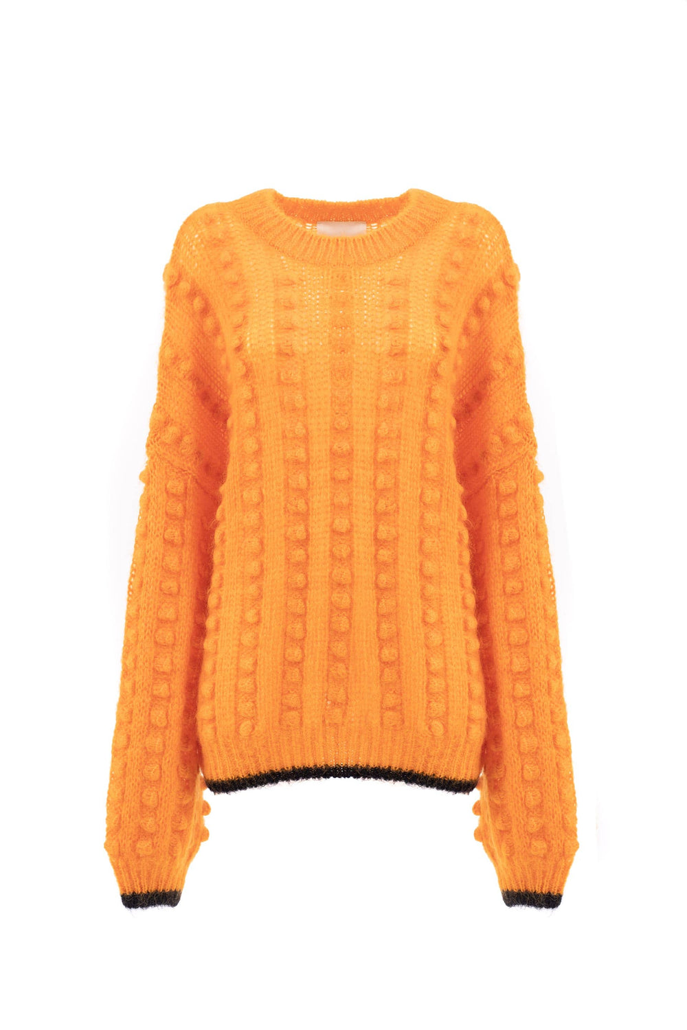 Wool and mohair pullover