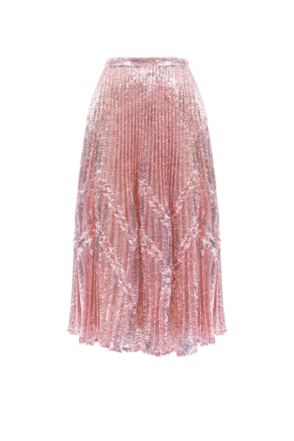 Sequined midi skirt