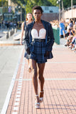 Pleated Tulle Shorts