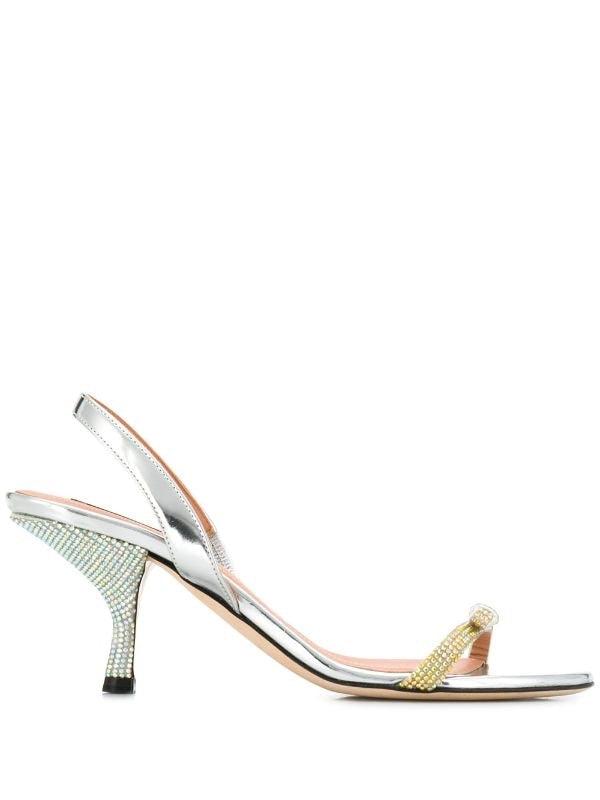 Crystal Slingback Sandals