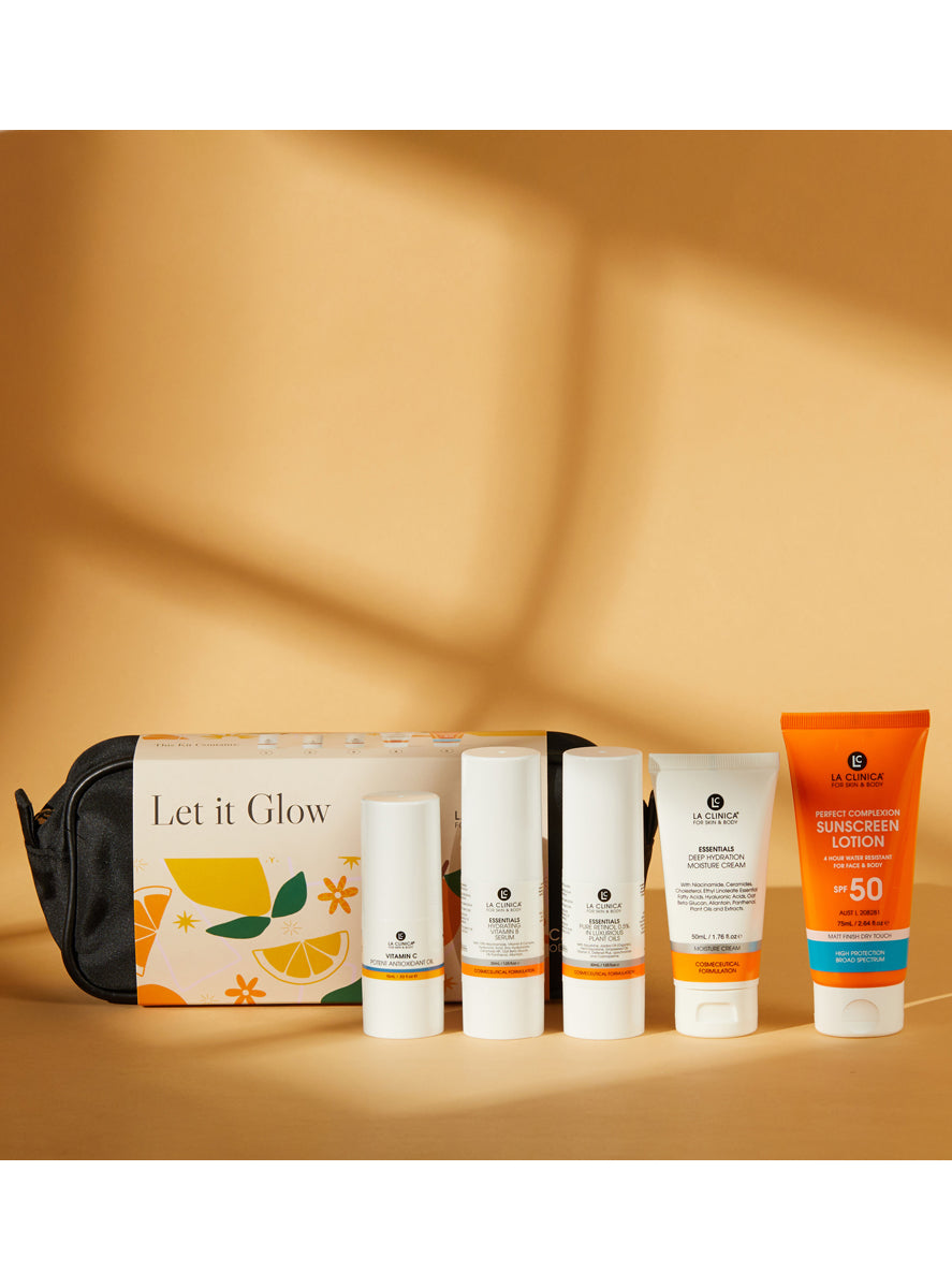 Let It Glow Skin Care Kit
