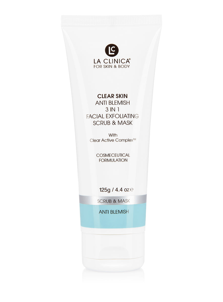 Anti Blemish Facial Exfoliating Scrub & Mask