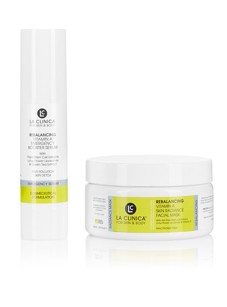 Rebalancing Vitamin A Skin Radiance Mask Treatment Kit