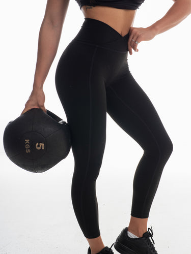 The Vault Leggings - Coal