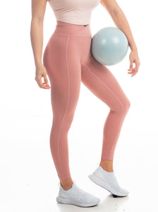 The Vault Leggings - Deep Blush