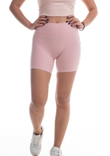Ride or die shorts - Flamingo pink