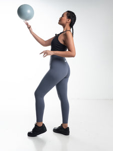 The Vault Leggings - Steel Blue
