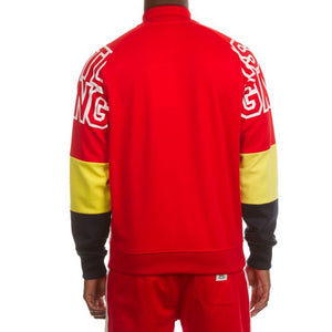 Hustle Gang Fast Track (Red) Two Piece Suit