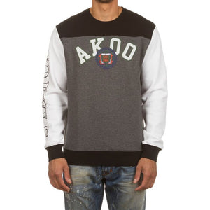 Akoo No Rvls Crew (Heather Grey)