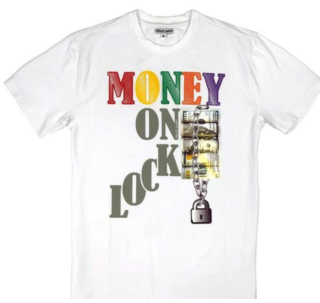Hudson/Eternity Money On Lock Men's Tee Shirt
