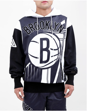 Black Pyramid Pro Standard Collab Brooklyn Nets 2 Piece Men's Sweater Set
