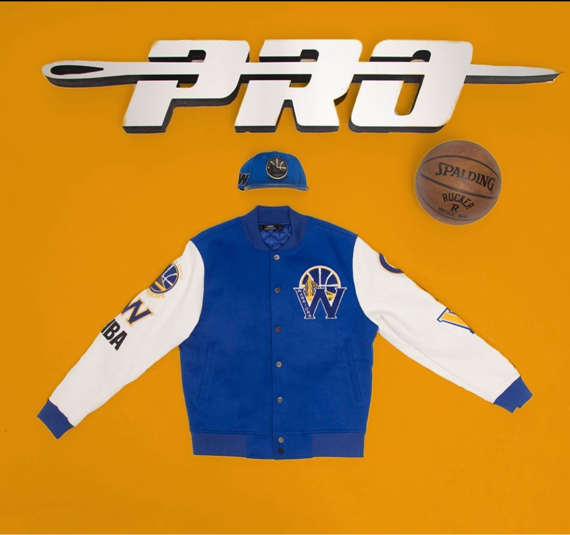 Pro Standard Golden State Warriors Men's Jacket