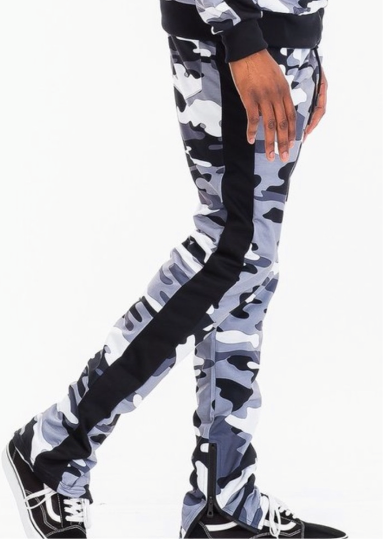 Men's Army City Camo Stretchy Jogger Pants