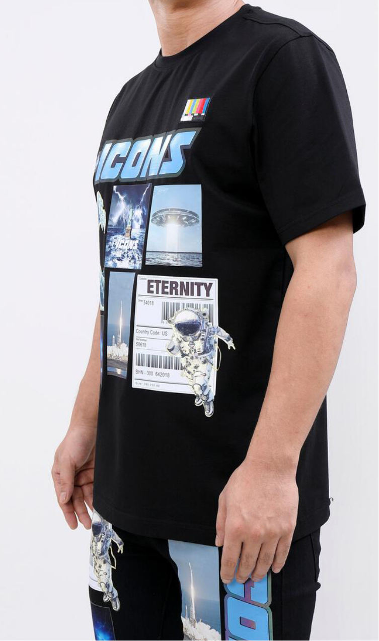 Hudson/Eternity Icon Space Men's Tee Shirt