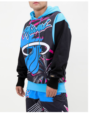 Black Pyramid Pro Standard Collab Miami Heat 2 Piece Men's Sweater Set