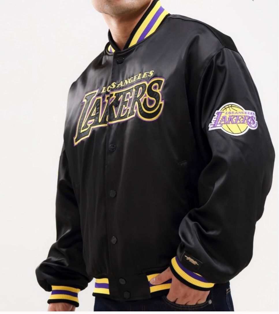 Pro Standard Men's LA Lakers Bomber Jacket