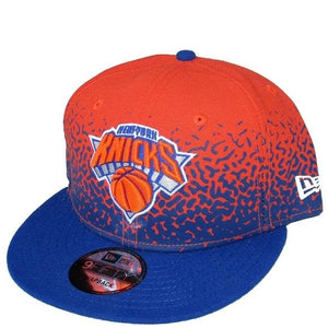 New Blue & Orange New York Knicks NBA Hat New Era